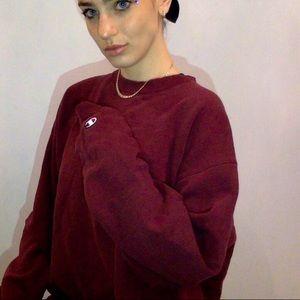 Cozy burgundy sweater 🖤
